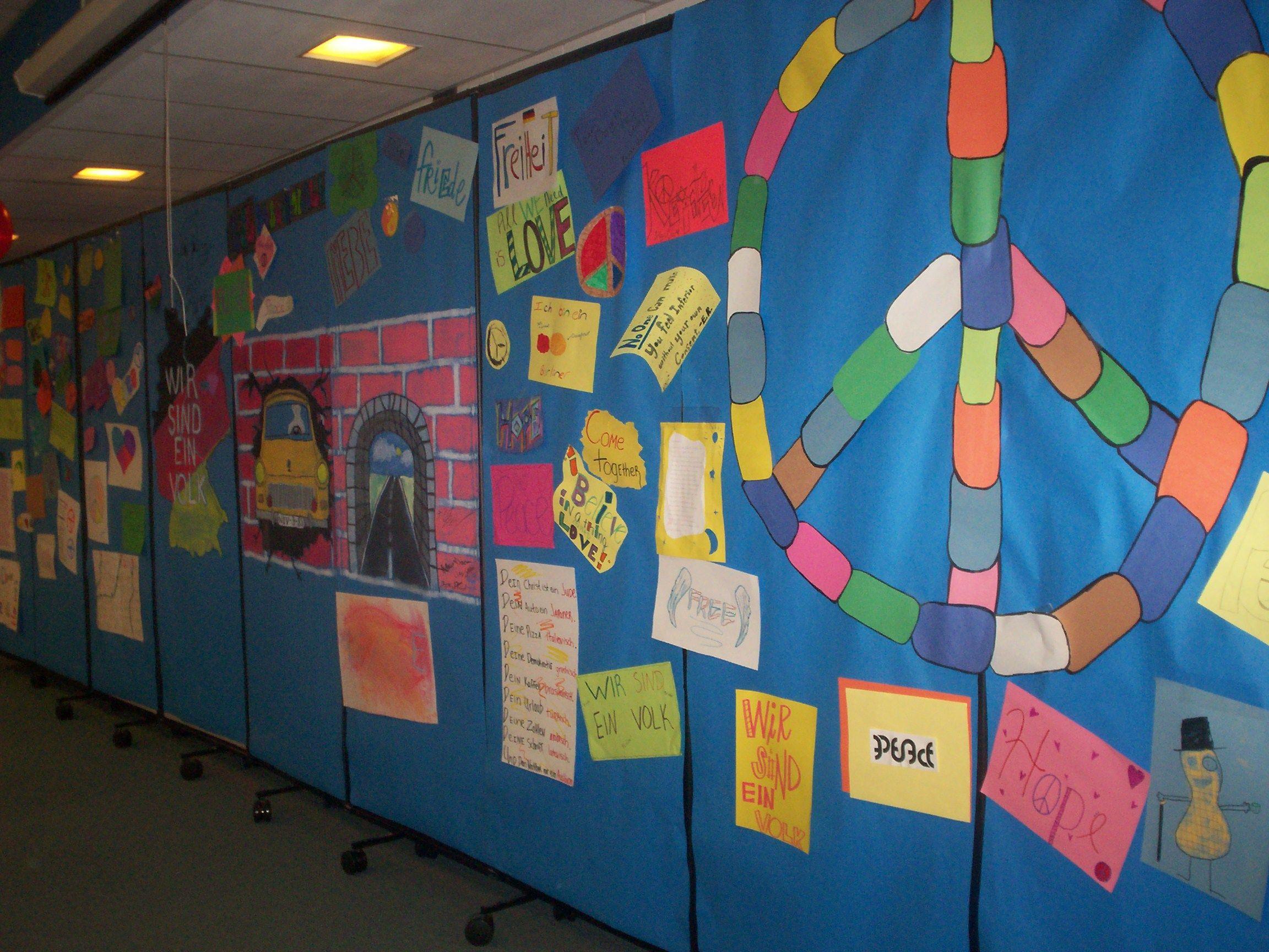 Berlin Wall Library Activity Anniversary Of Berlin Wall