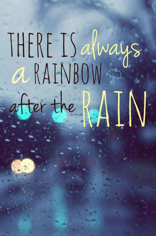 Rain Before Rainbows Rainy Day Quotes Good Morning Rainy Day Good Morning Rain