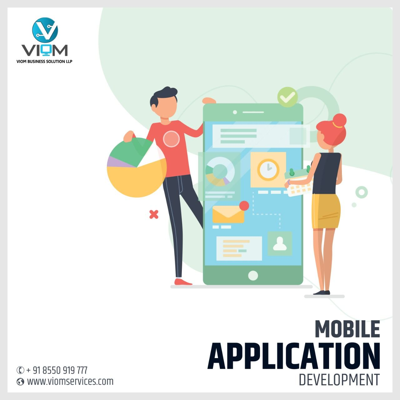 Pin By Viom Services On Viom Services Business Solutions Mobile Application Development