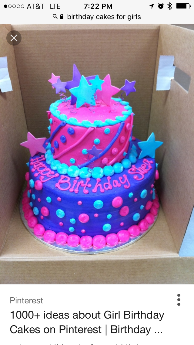 Amazing So Cute Cake Birthday Cakes For Teens Childrens Birthday Cakes
