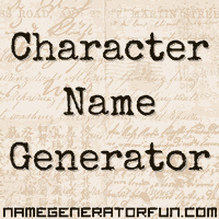 Character Name Generator - generate random names from a huge