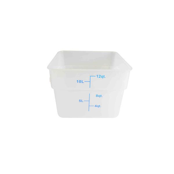Details About Tw Plsft012pp 12 Qt Plastic Food Storage Containers White Lot Of 6 Ea Food Storage Containers Food Storage Storage Containers