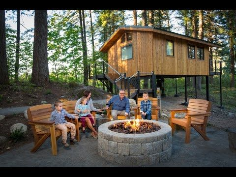 Columbia River Gorge Lodging Snia Tree Houses Accommodations