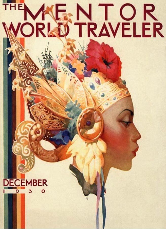 The Mentor World Traveler magazine, December 1930