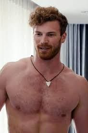 Fat hairy redhead