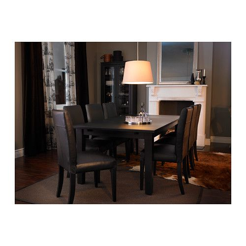 Stornäs Extendable Table Brownblack  Extendable Dining Table Classy Size Of Dining Room Table For 10 Design Ideas