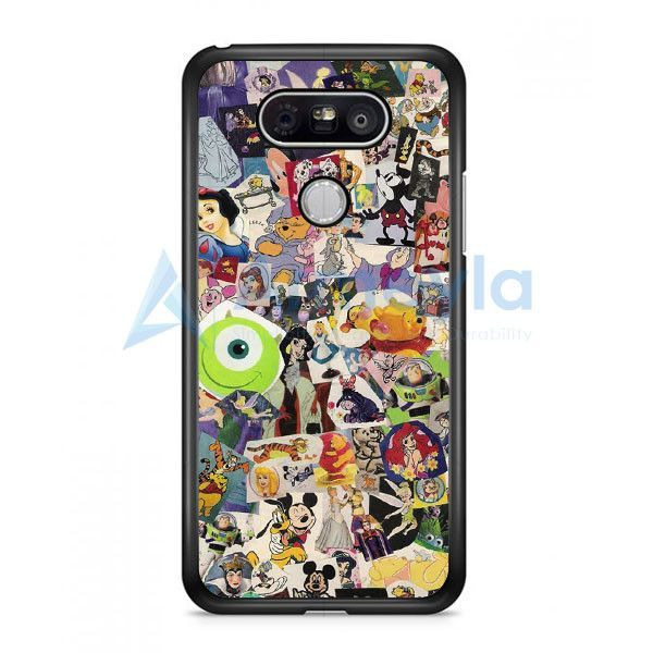 Disney Characters Stained Glass LG G5 Case | armeyla.com