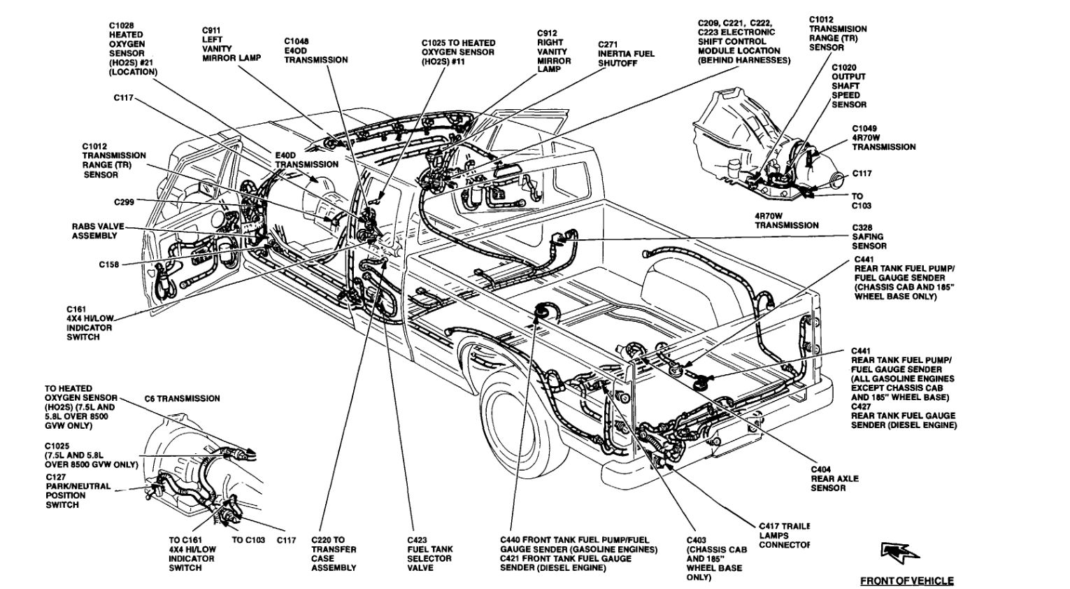 1989 Ford F 150 Rear Tank Fuel System Diagram Bookmark Fuel System
