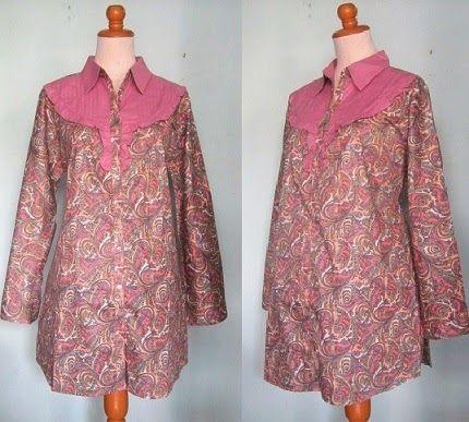 Aneka Pilihan Model Baju Batik Kantor Lengkap  Style  Fashion