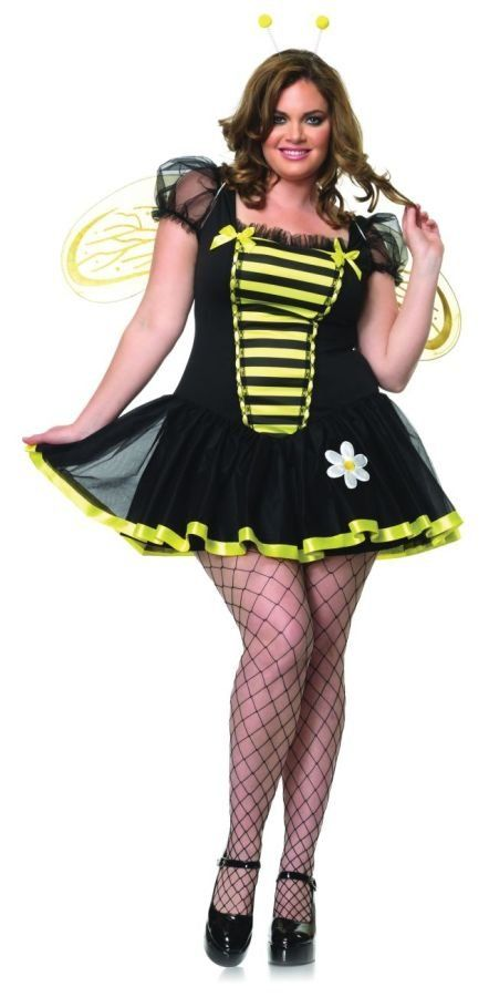2579159d9 Plus Size Women Daisy Bumble Bee Outfit Fancy Dress Sexy Costume