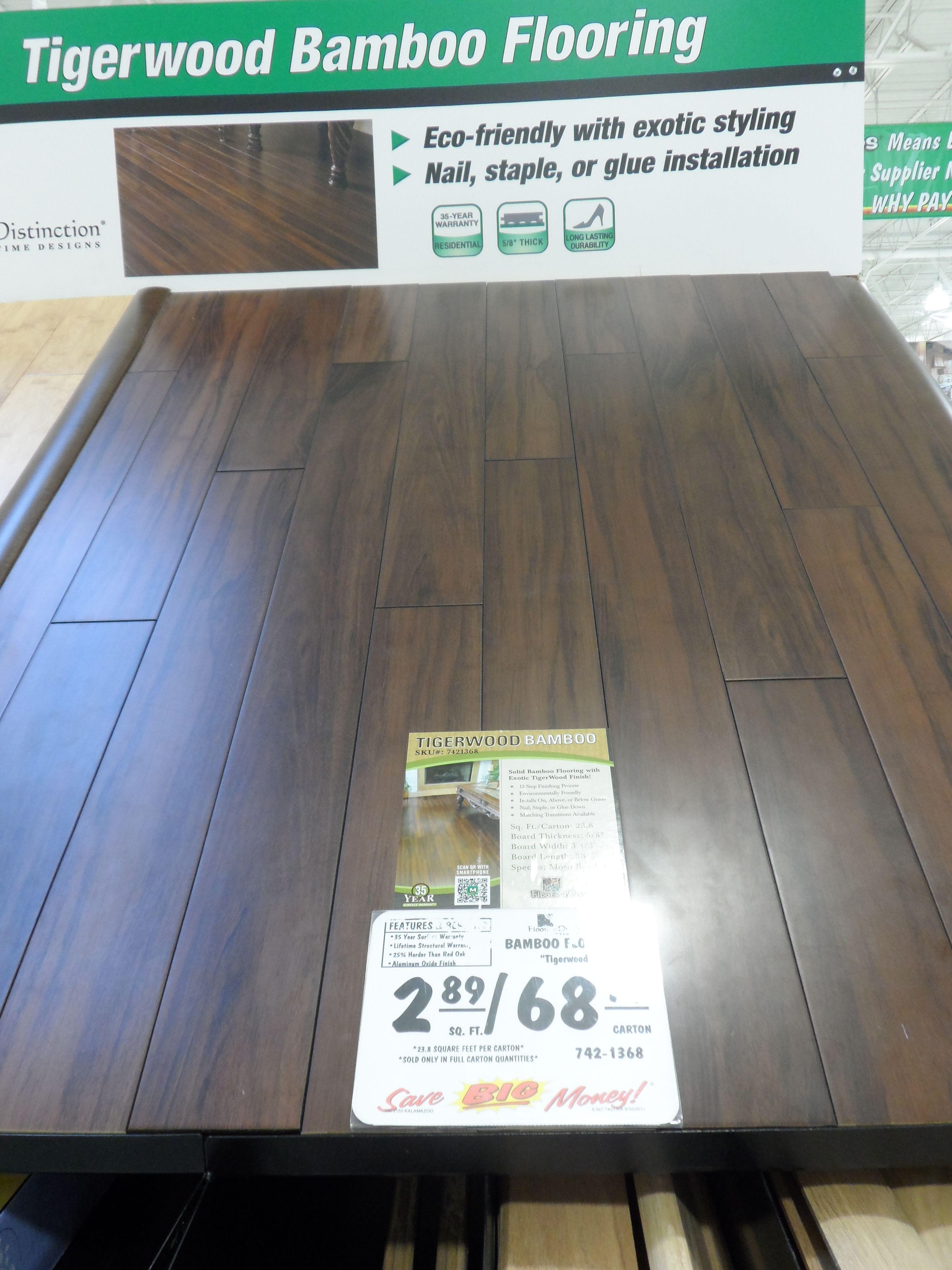 Tigerwood Bamboo Flooring Menards Flooring Bamboo Flooring
