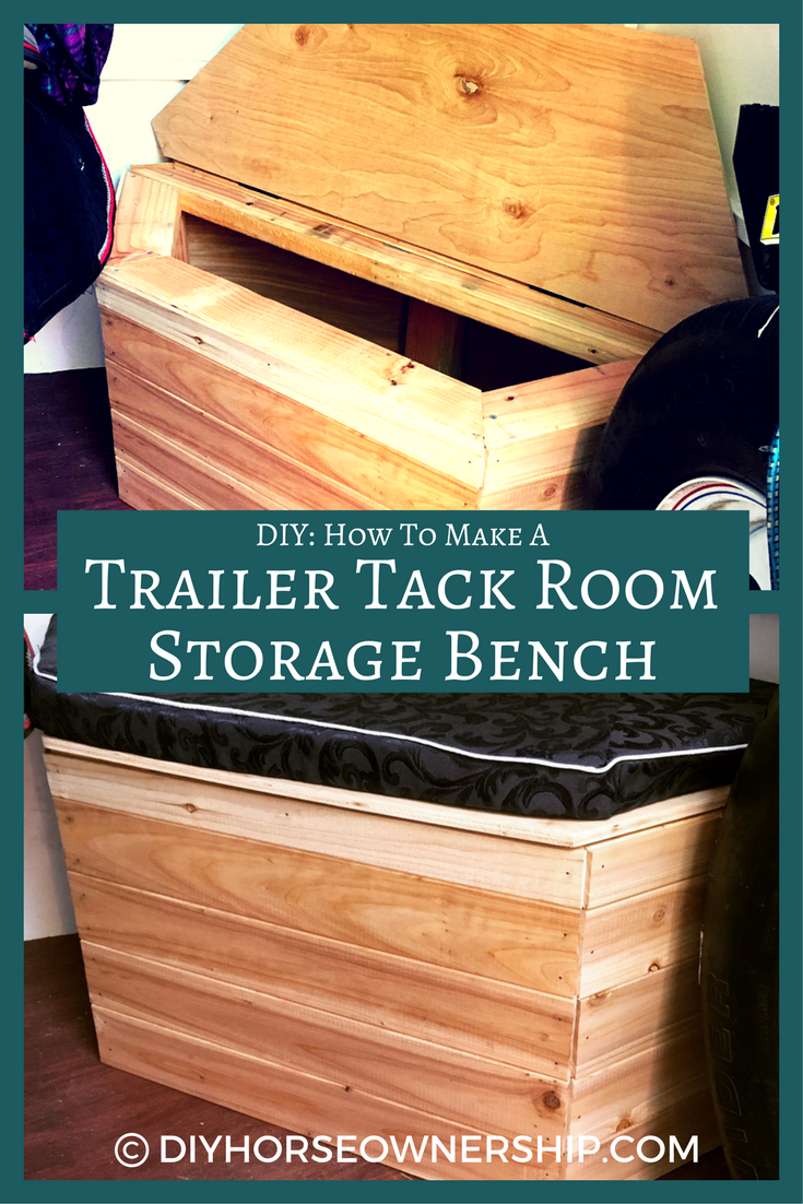 Diy do it yourself how to make a custom storage bench for your diy do it yourself how to make a custom storage bench for your horse trailer solutioingenieria Gallery
