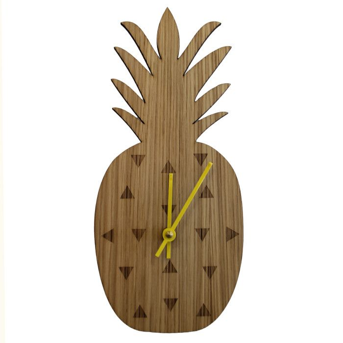 pineapple clock - SO cute!!