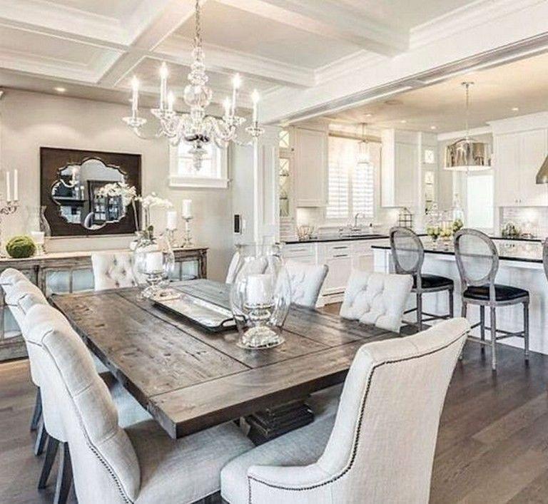 50 COOL FARMHOUSE DINING ROOM DECOR IDEAS #farmhousediningroom