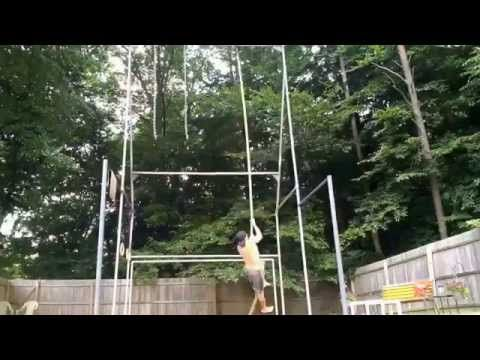 Extreme Outdoor Bodyweight Workout - Backyard Gym - YouTube