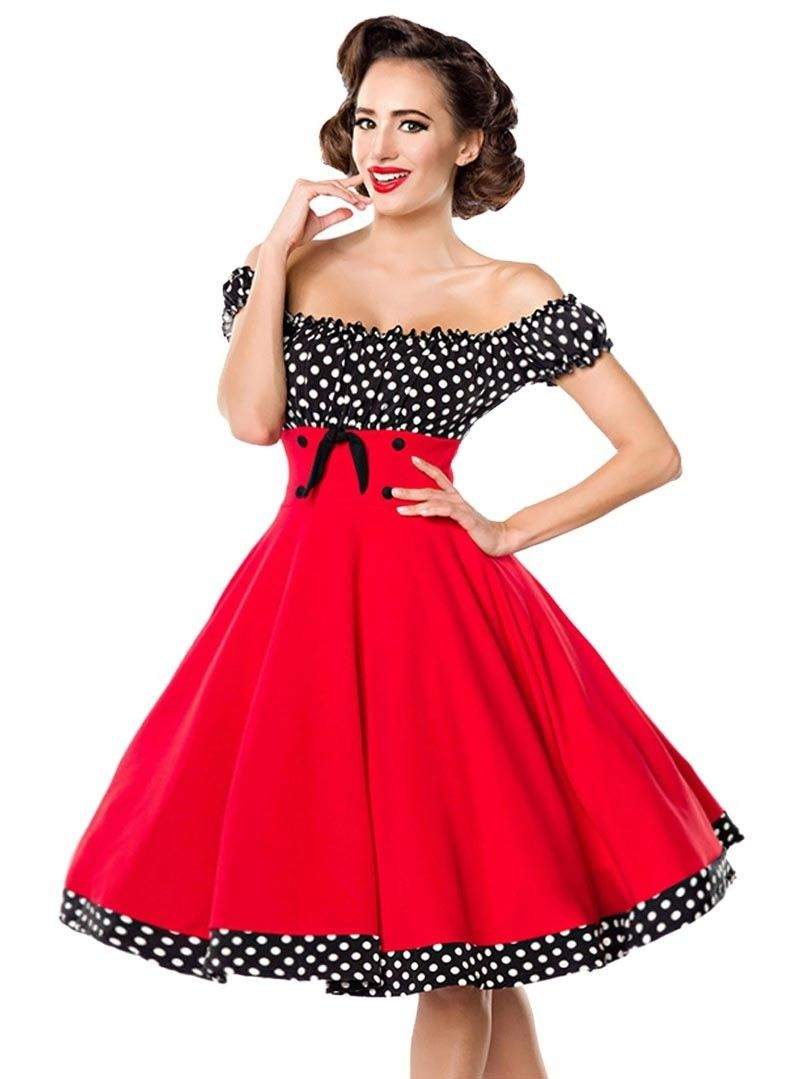 50 Années Rockabilly Retro Pin Rojo Belsira Bella Up Robe zAOq6xw
