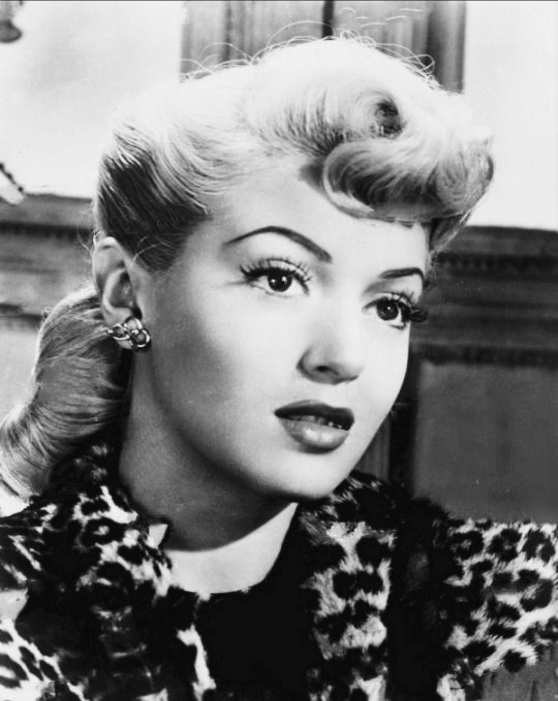 lana turner 1940s. vintage hairstyles