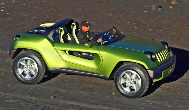 2008 Jeep Renegade Concept Was Off Road Ev Speedster Jeep