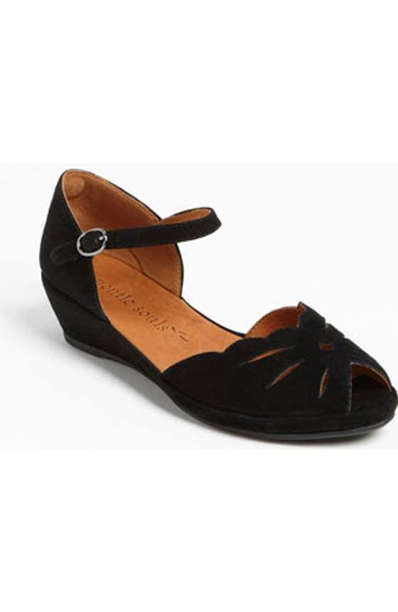 b1025c538559f0 Free shipping and returns on Gentle Souls  Lily Moon  Sandal at  Nordstrom.com. A just-right wedge lends easy elegance to a  vintage-inspired