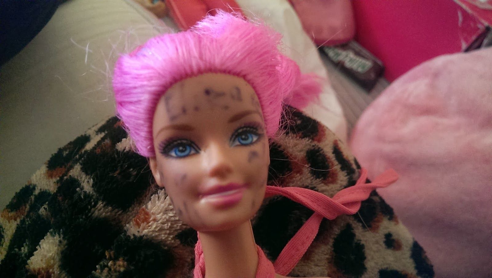 All and Everything Barbie : How to Remove Permanent Marker