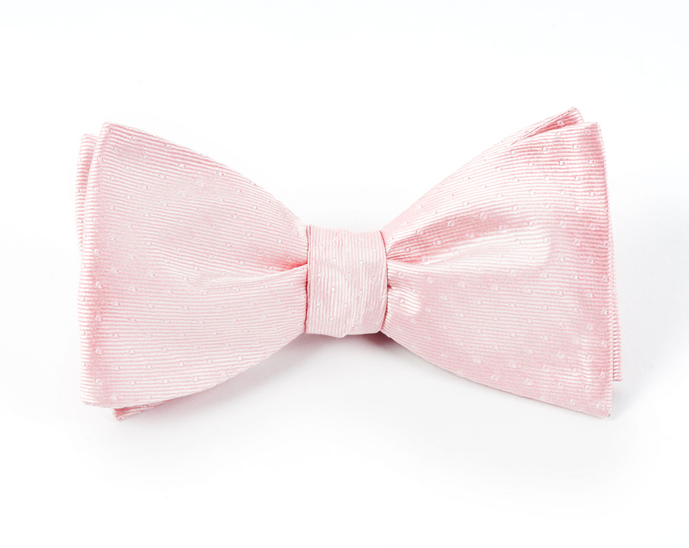 Mini Dots Blush Pink Bow Tie Pink Bow Tie Blush Pink Ties Pink Cheer Bows