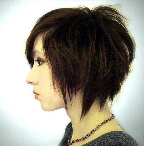 15 Short Razor Haircuts Http Www Short Haircut Com 15 Short Razor Haircuts Html Edgy Short Hair
