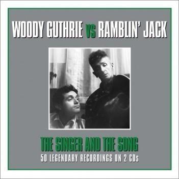Woody Guthrie Vs Ramblin' Jack Elliott The Singer And The Song 2 x CD