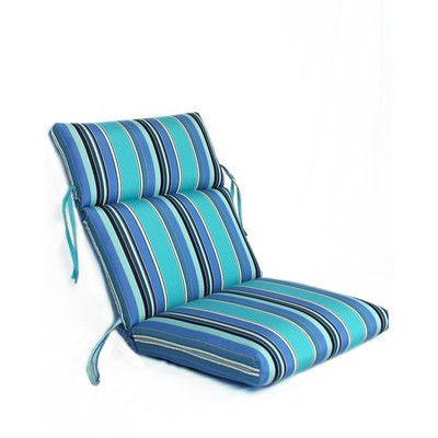 Comfort Clas Waterfall Outdoor Sunbrella Lounge Chair Cushion | Home U0026  Decor ~ Patio Chair Cushions | Pinterest | Lounge Chair Cushions And  Products