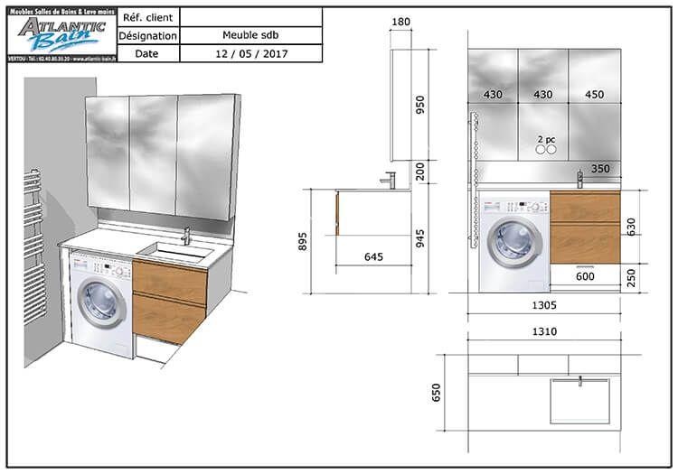 Comment installer un lave linge dans une salle de bain de 4 m²