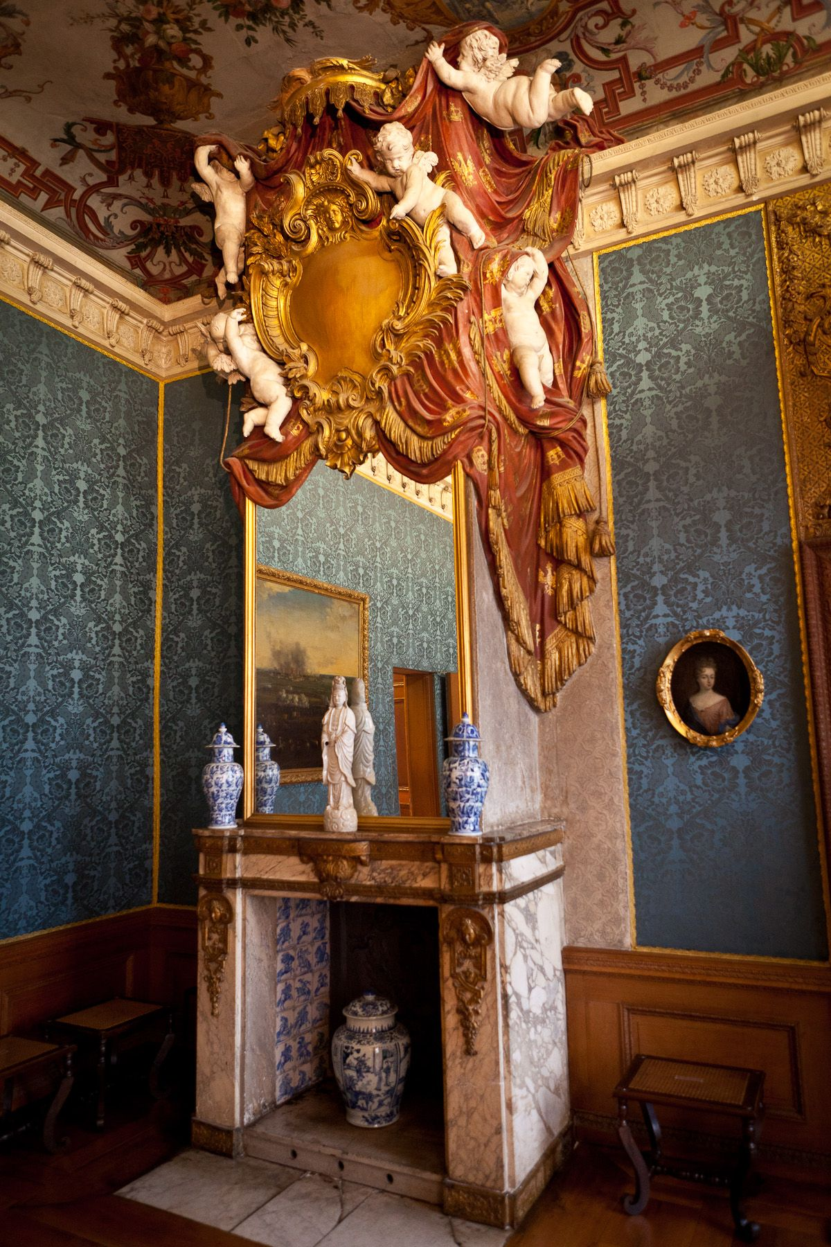 Charlottenburg palace. | Historic Interior Spaces | Pinterest | Häuschen