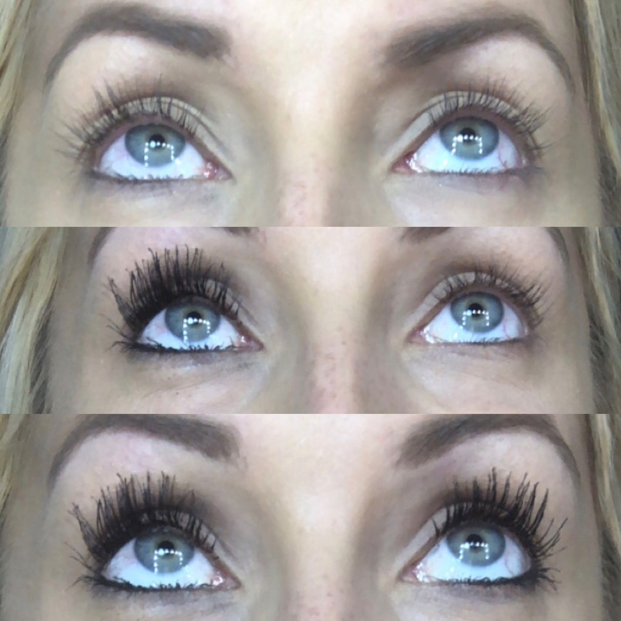 7e998ddae15 Younique Black Epic mascara before and after #MascaraTricks ...