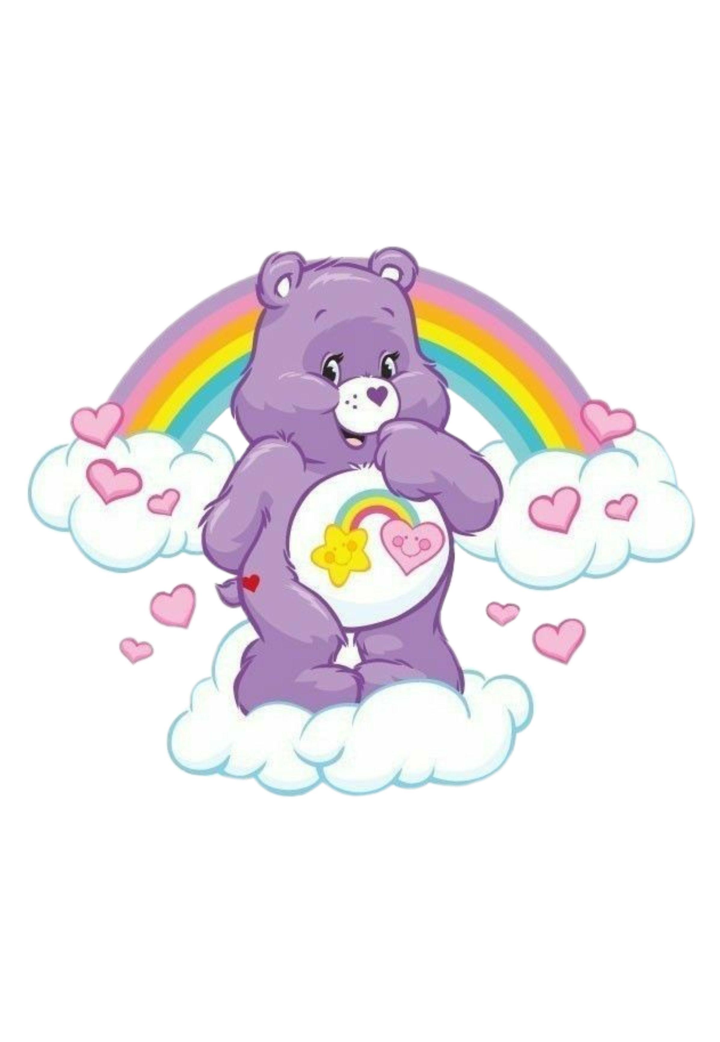 Pin von Yajaira Bastidas auf Care Bears   Glücksbärchi party ...