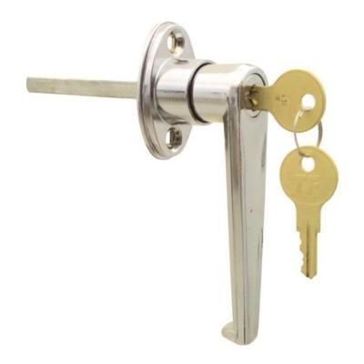 Ideal Security Keyed L Garage Door Replacement Lock Skl9201 The Home Depot Garage Door Replacement Garage Door Lock Replace Door