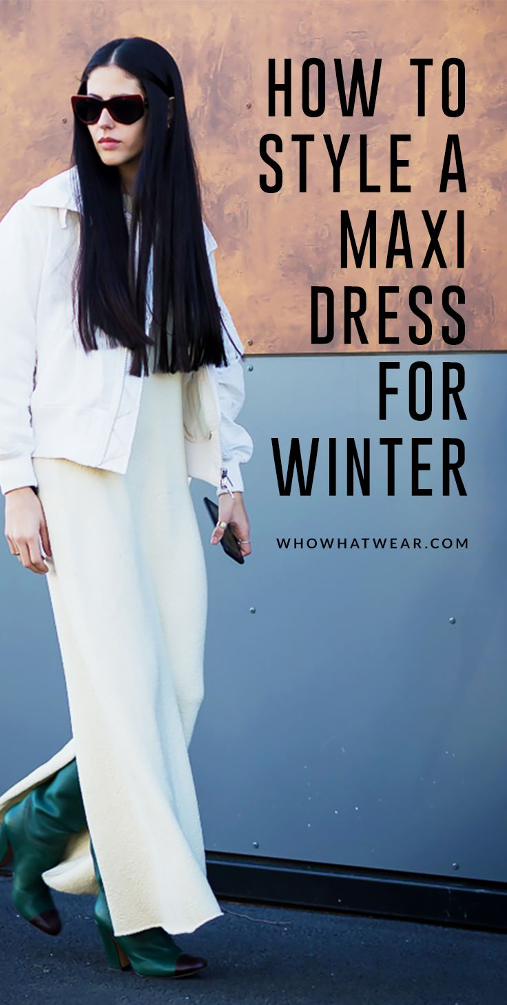 a45d8d9fe2bb 5 Ways to Wear Maxi Dresses This Winter | Outfit Ideas | How to wear ...