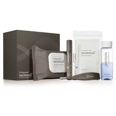 #LivingProof #Neotensil is the only safe, at-home procedure that works to reduce the appearance of under-eye bags.