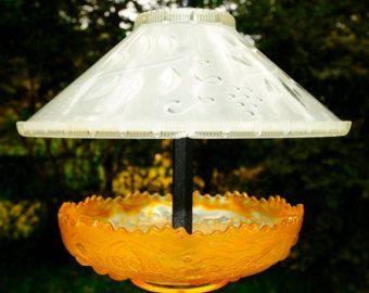 Glass bird feeders squirrel proof bird feeder by StellaErwins