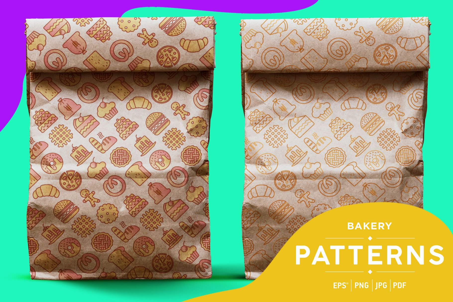 Bakery Patterns Collection By Alexey Blogoodf