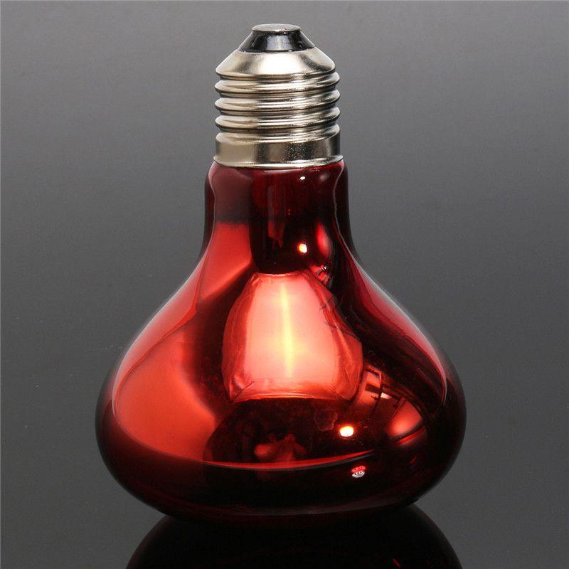 New Heat Basking Lamp 40w 60w 100w Spotlight Bulb Lamp Heating Light For Reptile Pet Ac 220v Red Glass Affiliate Heat Lamps Spotlight Bulbs Heat Lamp Bulbs