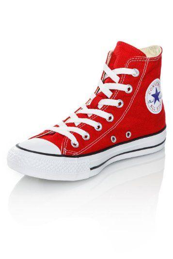 4c86dd22d3f0 Red Chucks.