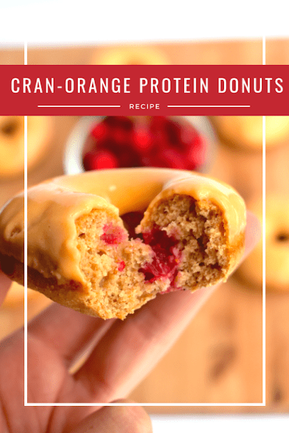 Cran-Orange Protein Donuts - My Own Meal Plan #proteindonuts Cran-Orange Protein Donuts - My Own Meal Plan #proteindonuts