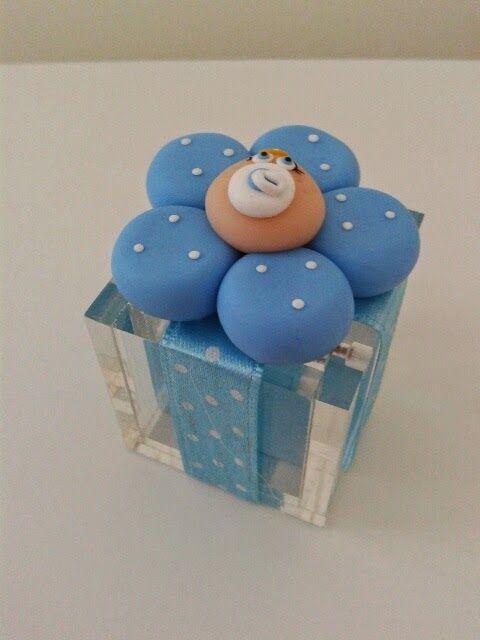 Bomboniere personalizzate bomboniere battesimo bimbo bomboniere in fimo fimo baby shower - Idee per battesimo bimbo ...
