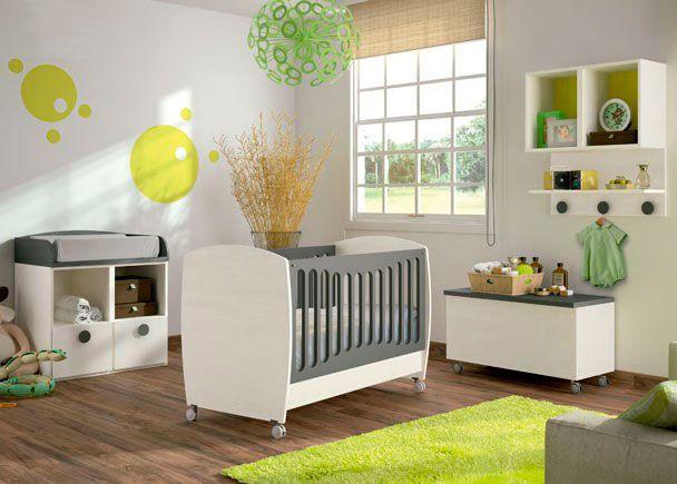 Habitaci n beb cuna convertible modelo baby novedades for Cuna para habitacion pequena