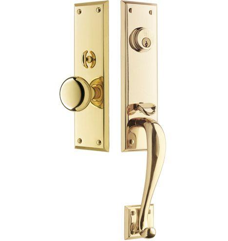 Peterson exterior mortise door set classic entry set - Home hardware exterior door handles ...
