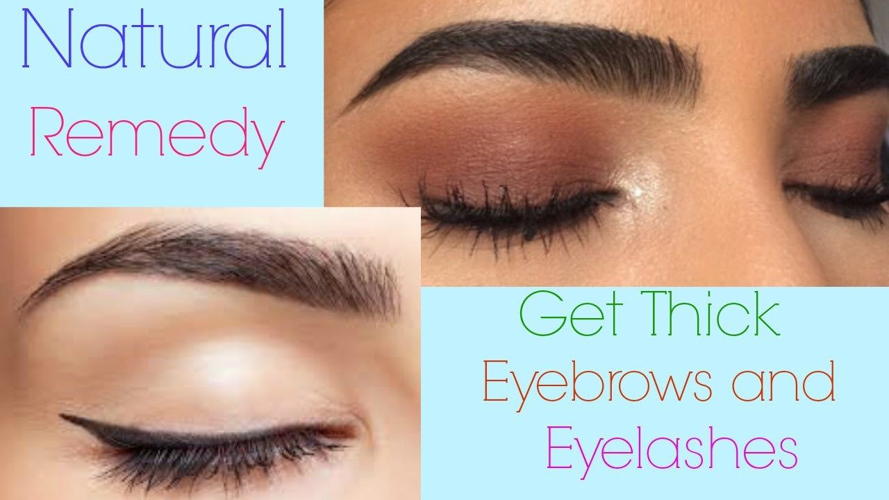 HOW TO GROW LONG THICK EYELASHES AND EYEBROWS QUICKLY ...