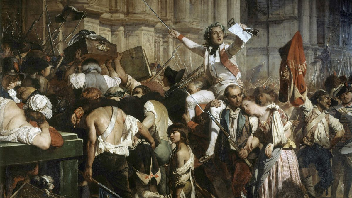 The French Revolution Was Plotted On A Tennis Court Explore Some Well Known Facts About The French Revolution Some Of W French Revolution Revolution History