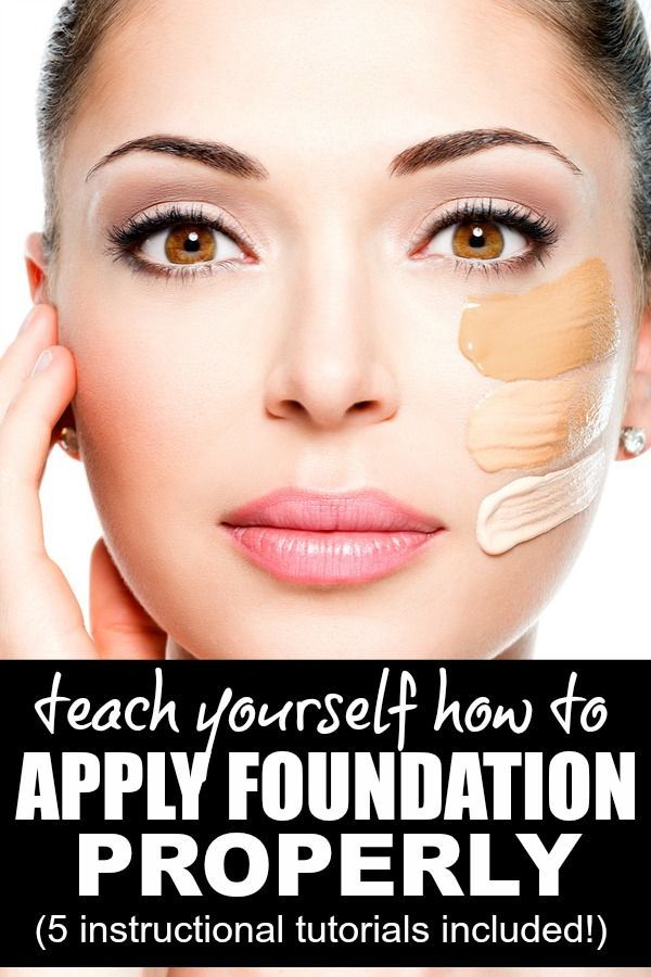Best 25+ How To Apply Foundation Ideas On Pinterest