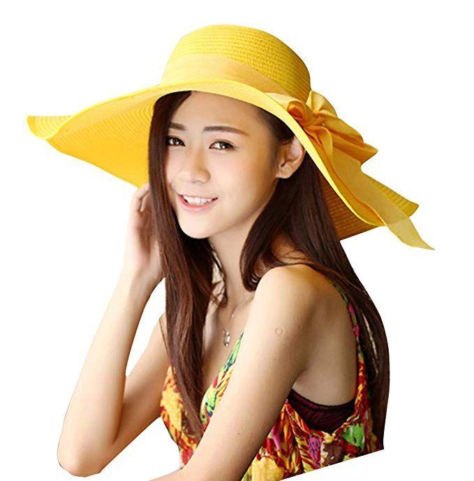 30th floor Women s Summer Wide Brim Beach Hats Sexy Chapeau Large Floppy  Sun Caps Review db3b4c9bfa12