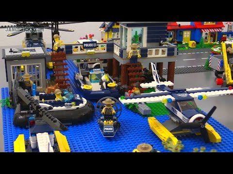 Lego City 2015 All Swamp Police Criminal Sets Together Lego City Lego Police Lego