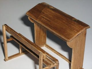how to: old fashioned school desk (link to tutorial)