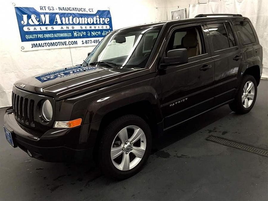 Tan 2014 Jeep Patriot 4wd 4d Wagon Latitude Naugatuck Connecticut